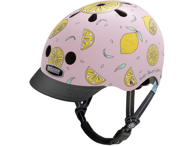 Nutcase Little Nutty Street Helmet Kinder pink lemonade